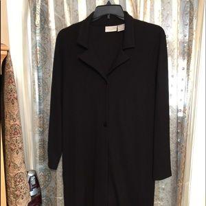 EUC Worthington Knits black jacket sz 1X